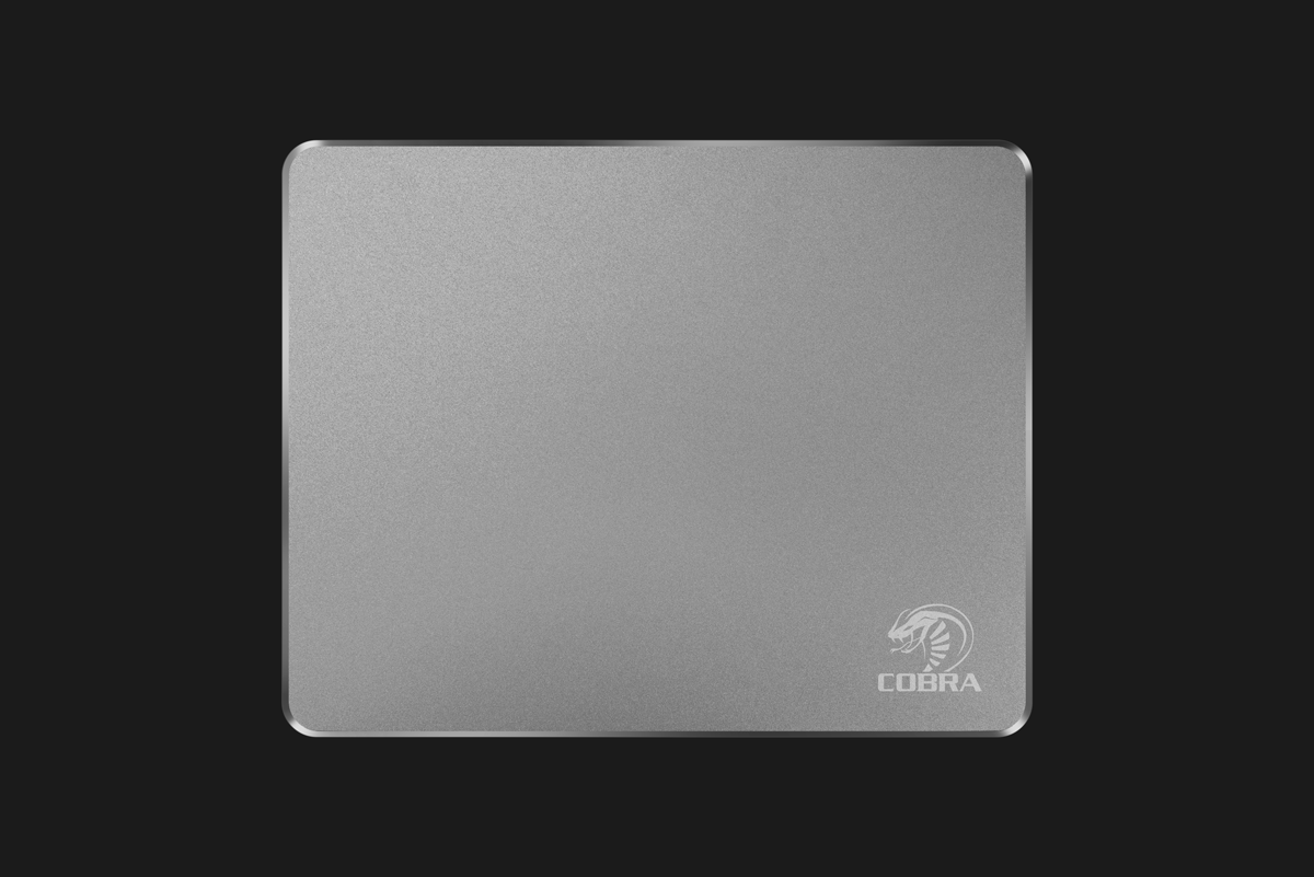 Cobra Aluminum Alloy Mouse Pad