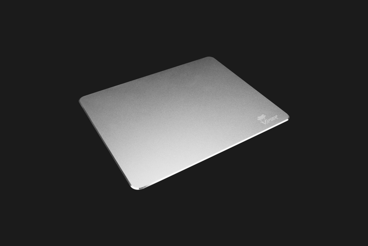 Viper Metal Mouse Pad Side View